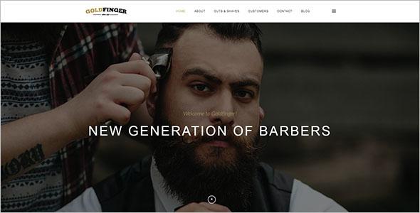 Barbershop Joomla Template