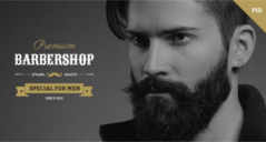 Barbershop Joomla Templates