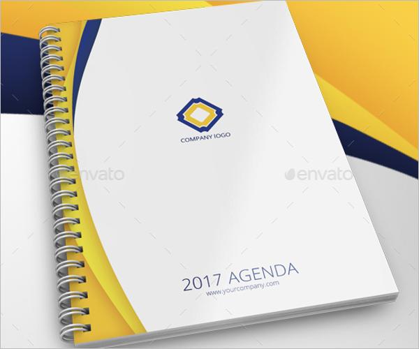 Basic Agenda Planner Template