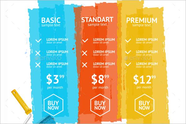 Basic Price List Template