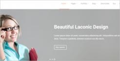 Beautiful Business WordPress Theme
