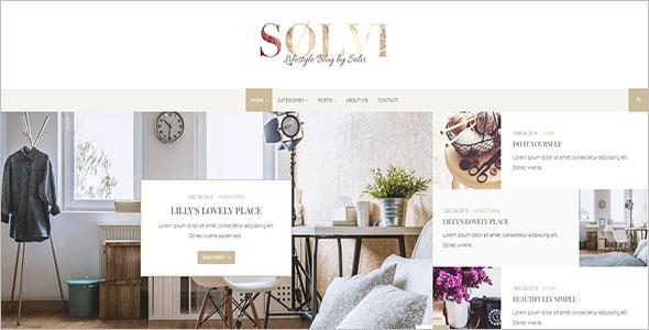 BeautifulLifestyle Blog Theme