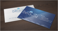 40+ Beauty Business Card Templates