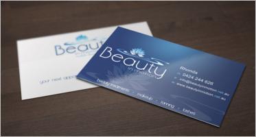 Beauty Business Card Templates