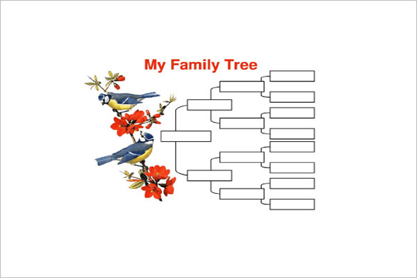 Best 4 Generation Family Tree Template