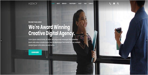 Best Agency Bootstrap Template