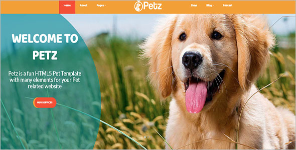 Best Animal Bootstrap Template