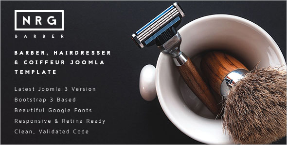 Best Barbershop Joomla Template