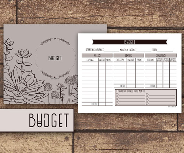 Best Budget Tracking Template