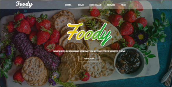 Best Cafe Website Template