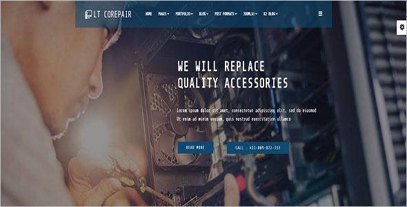 Best Computer Repair Joomla Template