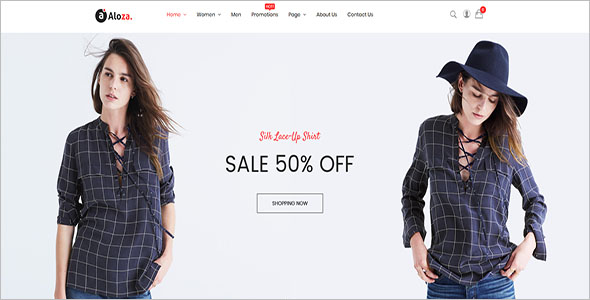Best Fashion Store Magento Theme