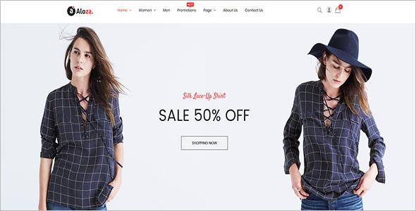 Best Fashion Store Magento Theme