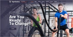 Best Fitness WordPress Theme
