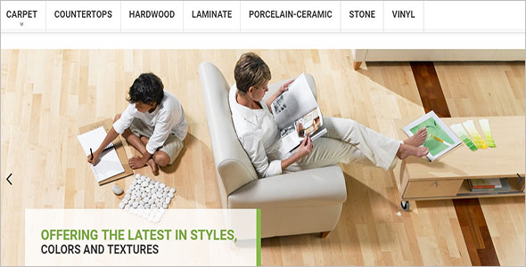 Best Flooring Magento Theme