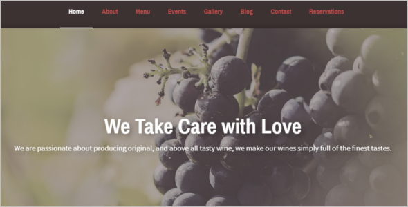 Best Food Ordering Website Template