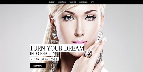 Best Jewelry Bootstrap Template