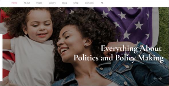 Best News Website Template