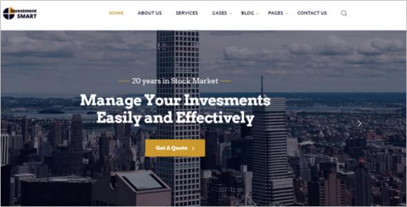Best Parallax Website Template