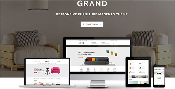 Best Responsive Furniture Magento Theme