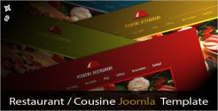 Best Selling Food Store Joomla Template