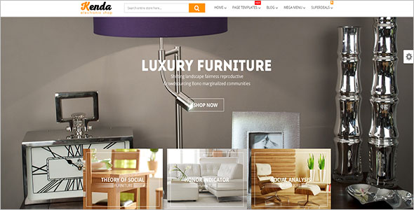 Best Selling Furniture Blog Theme