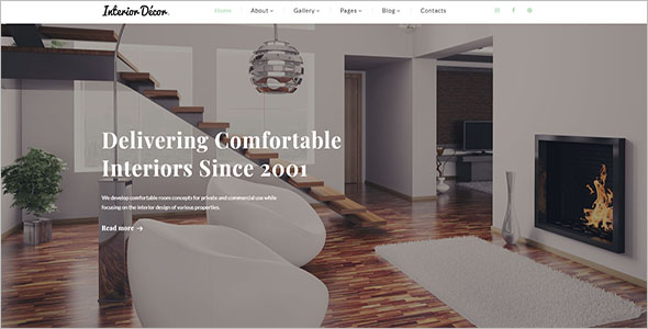 Best Selling Furniture Bootstrap Tempate