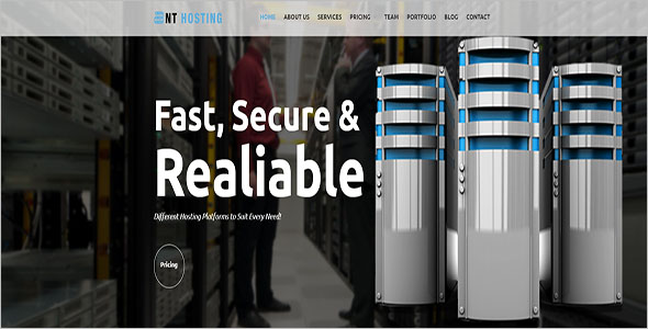 Best Selling Hosting Blog Theme