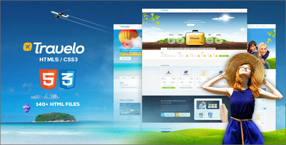 Best Selling Travel HTML Template