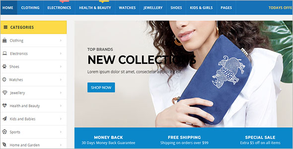 Best Selling Retail Blog Theme