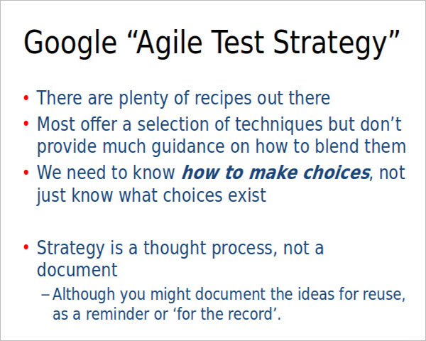 Best Test Strategy Template