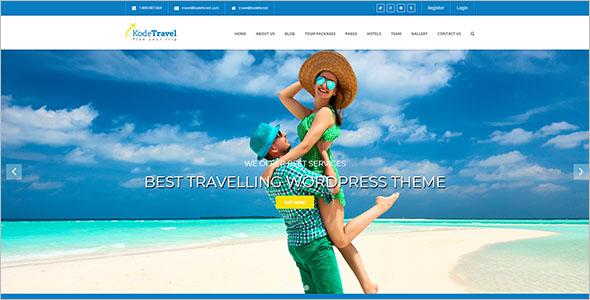 Best Travelling WordPress Theme