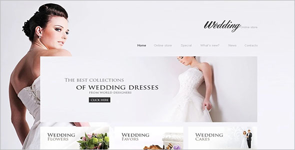 Best Wedding VirtueMart Theme