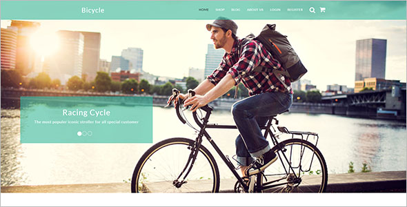 Bicycle eCommerce Html Template