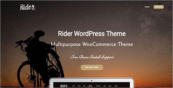 Bike Shop & Service WordPress Theme