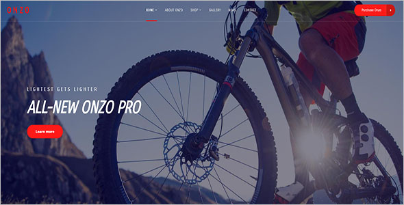 Bike Shop eCommerce Theme