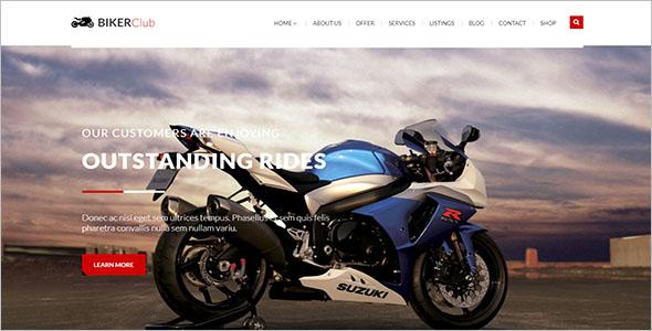 BikersClub HTML Template