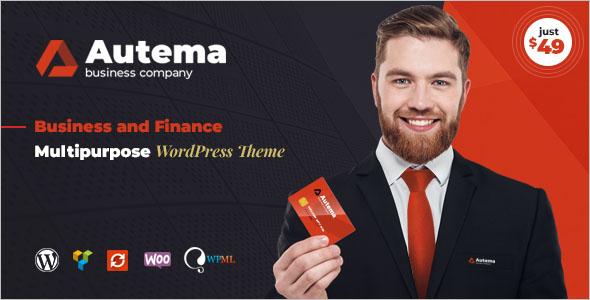 Bitcoin Business WordPress Theme