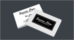 46+ Black & White Business Card PSD Templates