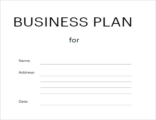 Blank Business Test Strategy  Template