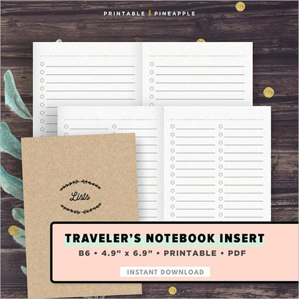Blank Checklist Template Word