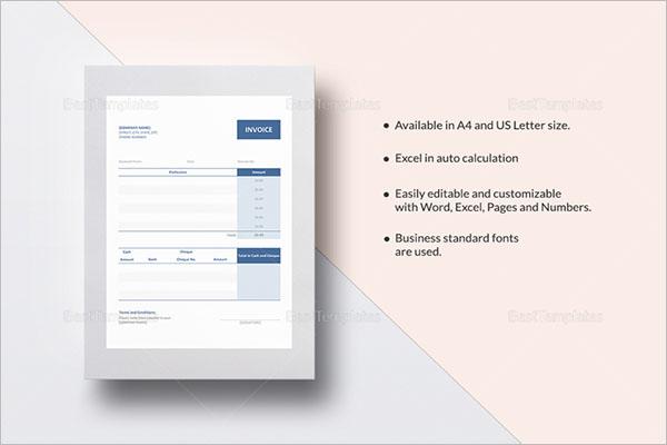 Blank Receipt Template Microsoft Word