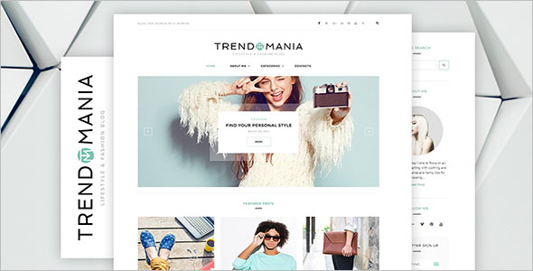 Blog Theme For Personal Lifestyle