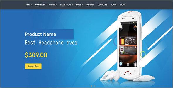 Bootstrap E-commerce Template