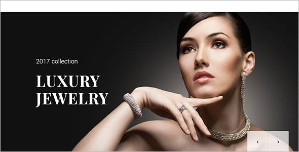 Bootstrap Jewelry Website Template
