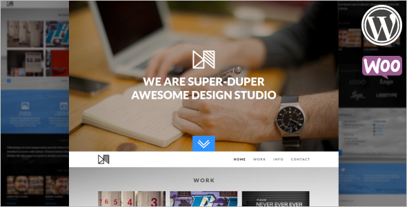 Bootstrap Scrolling Website Theme