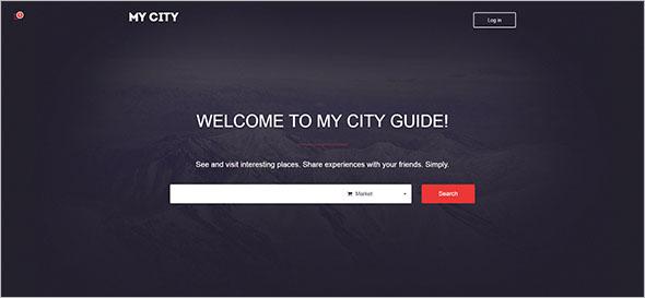 Bootstrap Social Media Website Template