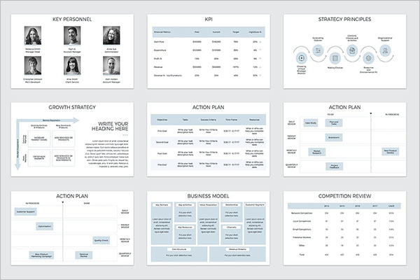 Brand Strategy Keynote Template