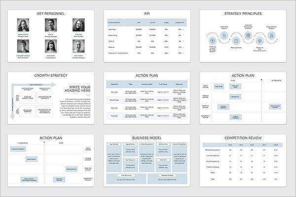 Brand Strategy Keynote Template