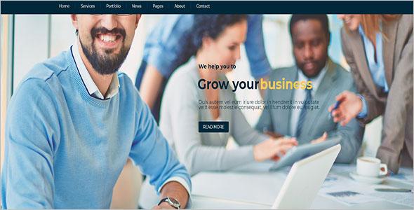 Business Adviser Drupal Theme